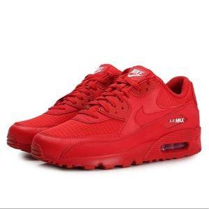 Nike Shoes | Air Max 9 Triple Red | Poshmark